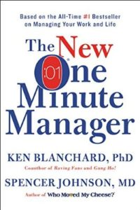 best business books to read before starting a business, the new one minute manager