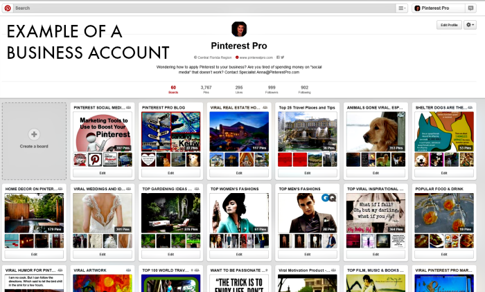 market your business using pinterest